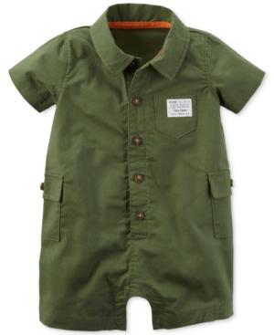 Carters Cotton Explorer Romper Baby Boys (024 months)