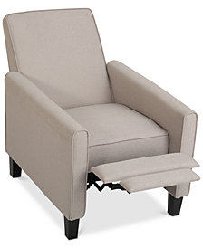 Almonte Fabric Recliner Club Chair, Quick Ship