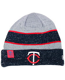 New Era Minnesota Twins On Field Sport Knit Hat