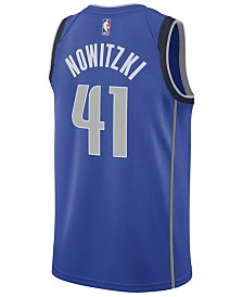Nike Men's Dirk Nowitzki Dallas Mavericks Icon Swingman Jersey