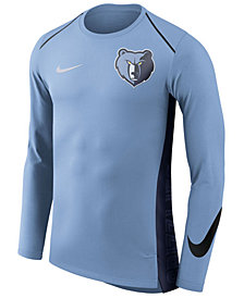 Nike Men's Memphis Grizzlies Hyperlite Shooter Long Sleeve T-Shirt