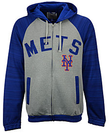 G-III Sports Men's New York Mets Legend Hooded Track Jacket