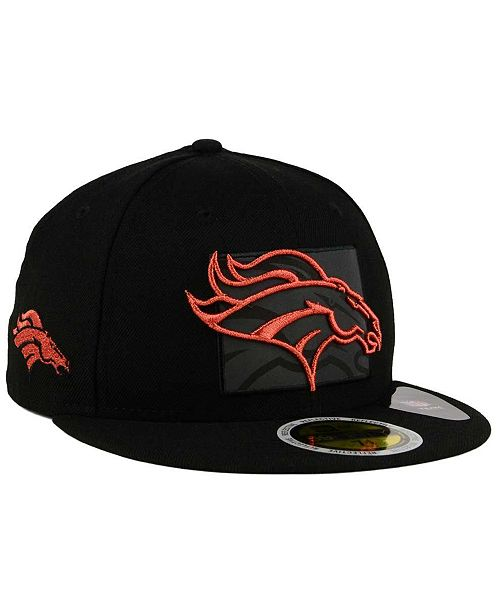 2bcb8495c6a ... New Era Denver Broncos State Flective Metallic 59FIFTY Fitted Cap ...