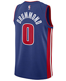 Nike Men's Andre Drummond Detroit Pistons Icon Swingman Jersey