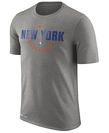 Nike Men's New York Knicks Dri-FIT Cotton Practice T-Shirt