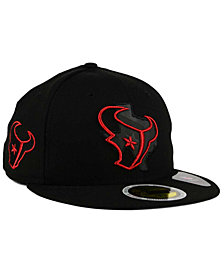 New Era Houston Texans State Flective Metallic 59FIFTY Fitted Cap