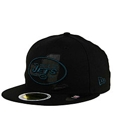 New Era New York Jets State Flective Metallic 59FIFTY Fitted Cap