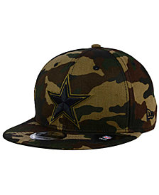 New Era Dallas Cowboys Camo on Canvas 9FIFTY Snapback Cap