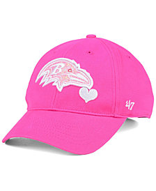 '47 Brand Girls' Baltimore Ravens Sugar Sweet MVP Cap
