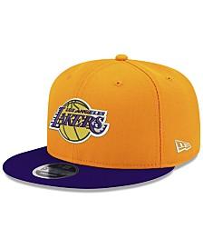 New Era Los Angeles Lakers Basic Link 9FIFTY Snapback Cap