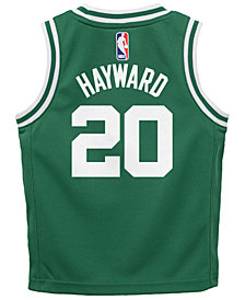 Nike Gordon Hayward Boston Celtics Icon Replica Jersey, Little Boys (4-7)