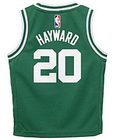 Nike Gordon Hayward Boston Celtics Icon Replica Jersey, Little Boys (4-7)