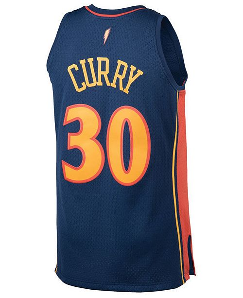 Mitchell   Ness Men s Stephen Curry Golden State Warriors Hardwood Classic  Swingman ... 564882a92