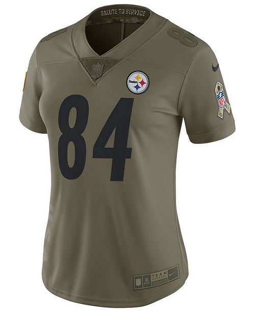 finest selection 54cdd 48387 Nike Women's Antonio Brown Pittsburgh Steelers Salute To ...