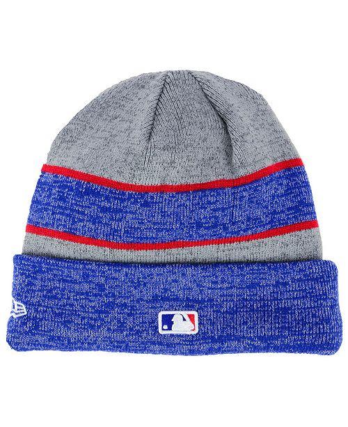 New Era Chicago Cubs On Field Sport Knit Hat - Sports Fan Shop By ... afd0370b005
