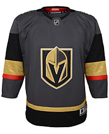 Authentic NHL Apparel Vegas Golden Knights Premier Blank Jersey, Big Boys (8-20)