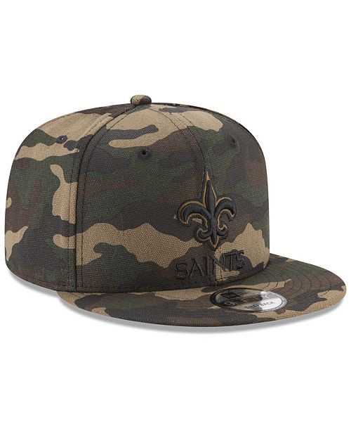 ... closeout new era new orleans saints camo on canvas 9fifty snapback cap  sports fan shop by 56f38eb90