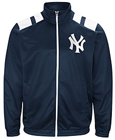 G-III Men's Sports New York Yankees Broad Jump Track Jacket