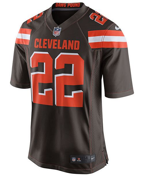 3a762241c Nike Jabrill Peppers Cleveland Browns Game Jersey, Big Boys (8-20) ...