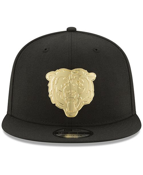 d9131a52fc7 ... uk new era. chicago bears ogold 9fifty snapback cap. be the first to  write