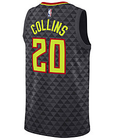 Nike Men's John Collins Atlanta Hawks Icon Swingman Jersey