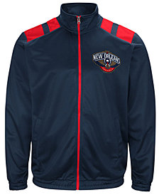 G-III Men's Sports New Orleans Pelicans Broad Jump Track Jacket