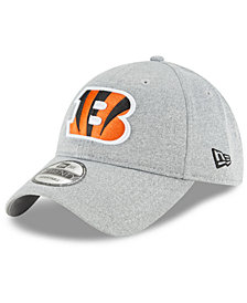 New Era Cincinnati Bengals Heather Leisure 9TWENTY Cap