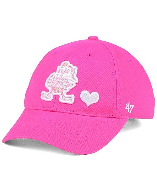 '47 Brand Girls' Cleveland Browns Sugar Sweet MVP Cap