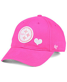 '47 Brand Girls' Pittsburgh Steelers Sugar Sweet MVP Cap