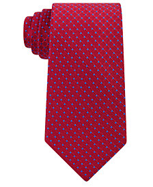 Tommy Hilfiger Men's Dot Silk Tie