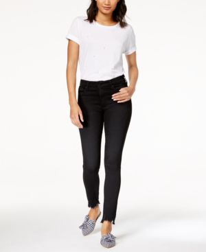 Ag Farrah High-Rise Skinny Ankle Raw-Hem Jeans 4823743