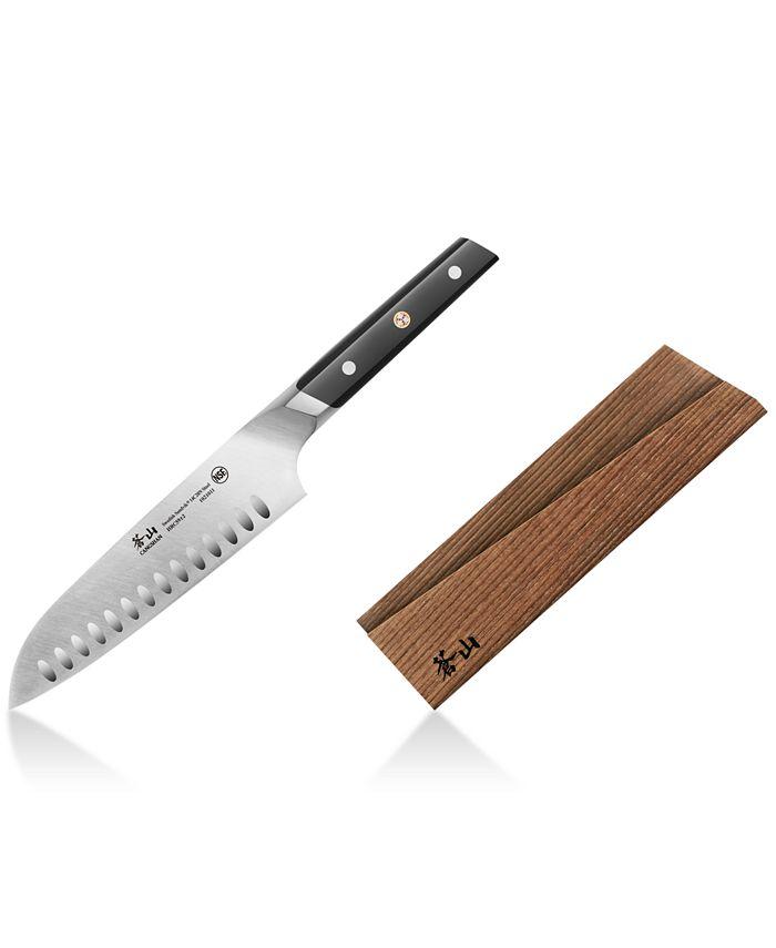 "Cangshan - 7"" Santoku Knife & Sheath"