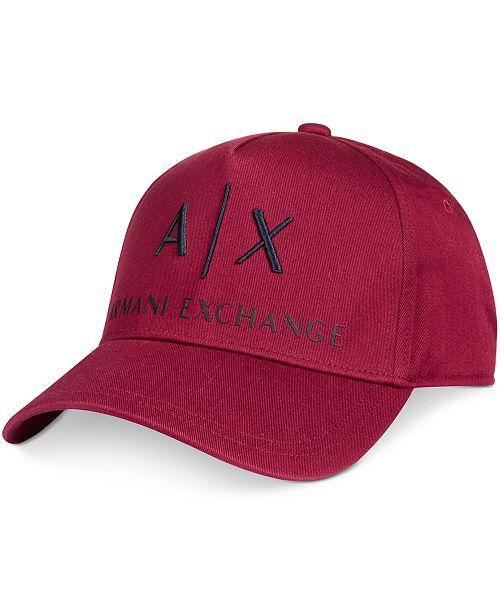 Armani Exchange Men s Baseball Hat - Hats 38bfda49804