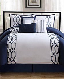 Reynard 7-Pc. Queen Comforter Set