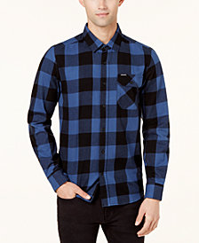 Volcom Men's Buffalo Plaid Flannel Shirt