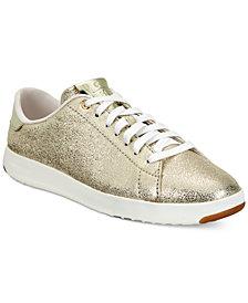 Cole Haan Women's GrandPro Lace-up Tennis Sneakers