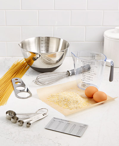 Martha Stewart Collection Good Tools for Mixing & Measuring, Created ...