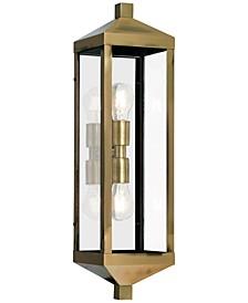 Nyack 2-Light Outdoor Wall Lantern