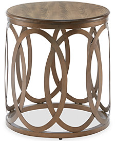 Fraser Round End Table, Quick Ship