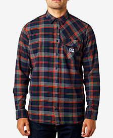 Fox Men's Drezzy Plaid Flannel Shirt