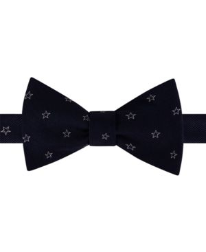 Tommy Hilfiger Men's Multi Star To-Tie Bow Tie thumbnail