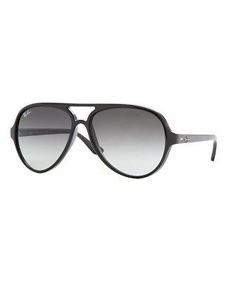 Ray-Ban CATS 5000 Sunglasses, RB4125 59 - Handbags & Accessories