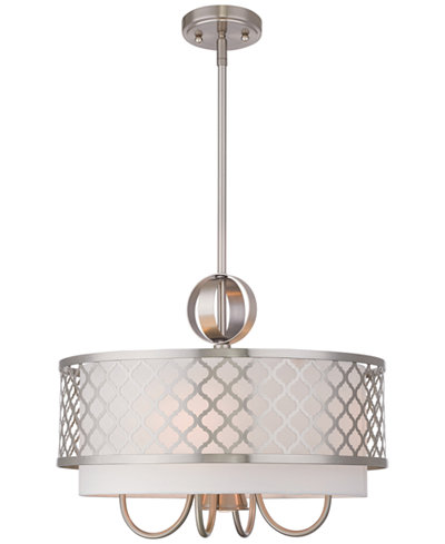 Livex arabesque 4 light pendant