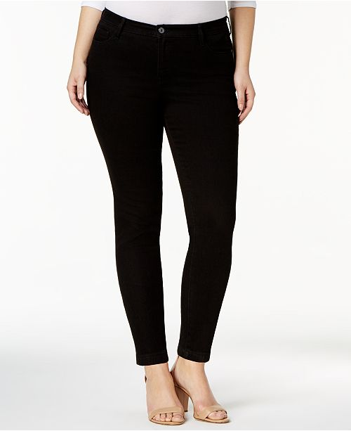33ea7564 ... Tommy Hilfiger Plus Size Greenwich Skinny Jeans, Created for Macy's ...