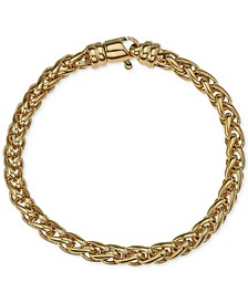 Chain Bracelet in 14k Gold-Plated Sterling Silver, Created for Macy's