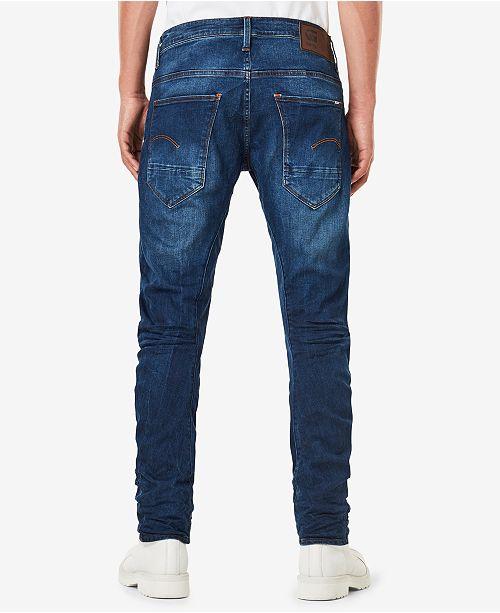 G-Star Raw Men s Arc 3D Slim-Fit Stretch Jeans - Jeans - Men - Macy s 542cd52313