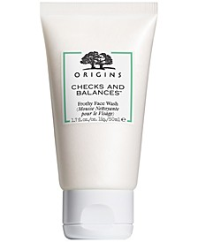 Checks and Balances Frothy Face Wash, 1.7 oz