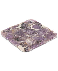 CLOSEOUT! Thirstystone Amethyst Square Coaster