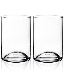 Elegance Double Old-Fashioned Glass Pair