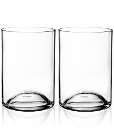 Waterford Elegance Double Old-Fashioned Glass Pair